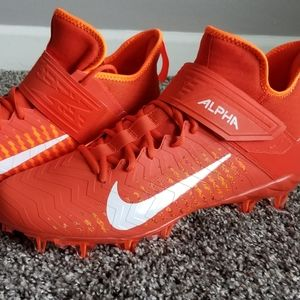 🌹 NWOB Nike Alpha Sz 14 Football Cleats